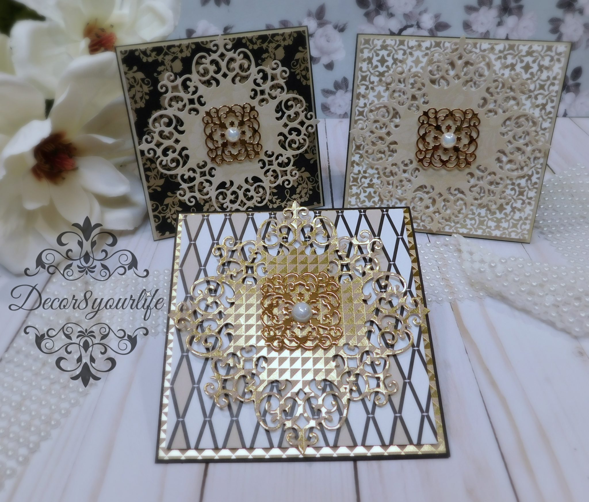 Elegant Handmade Cards Giveaway Closed Decor8yourlife
