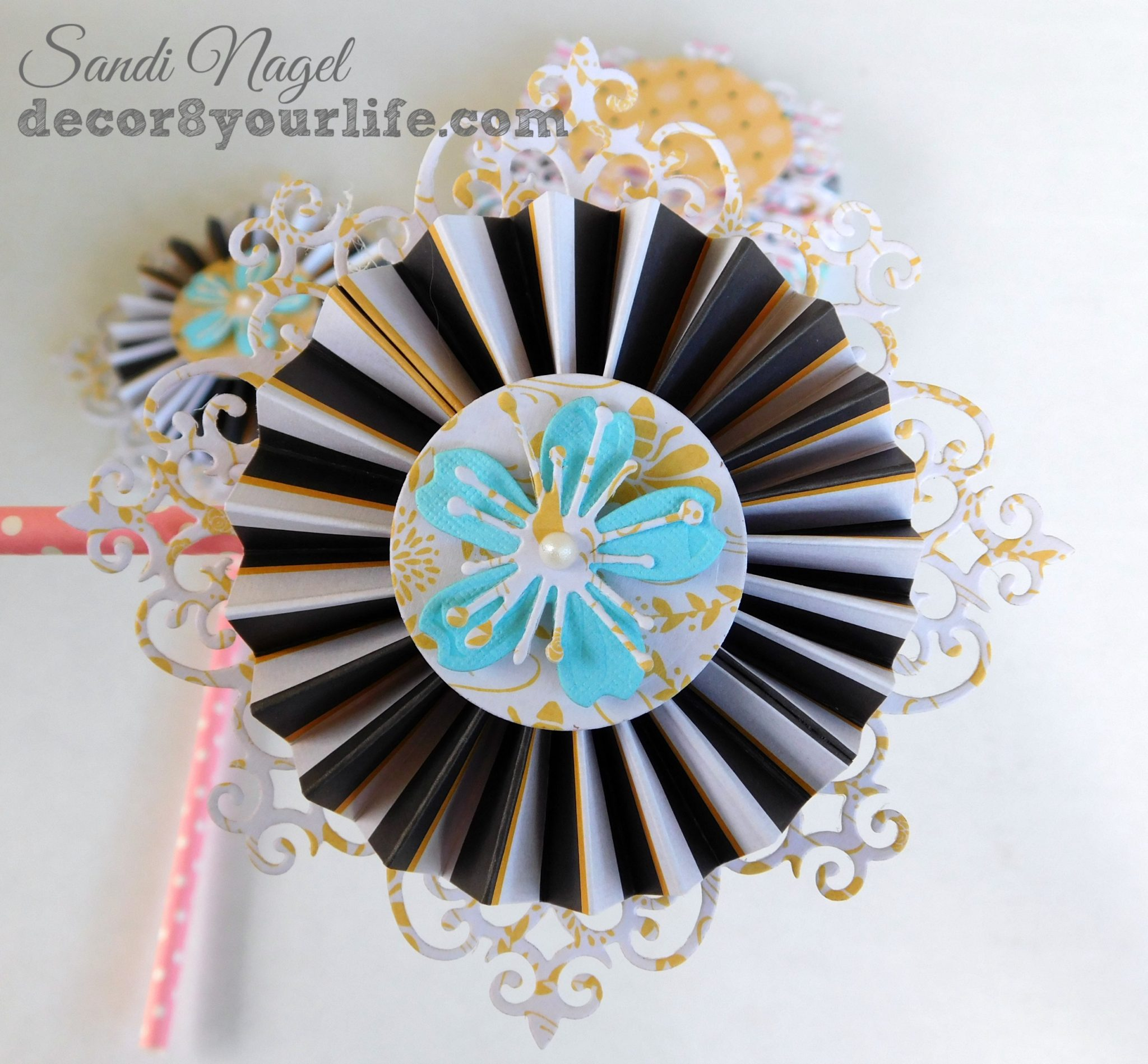 best paper rosette ideas