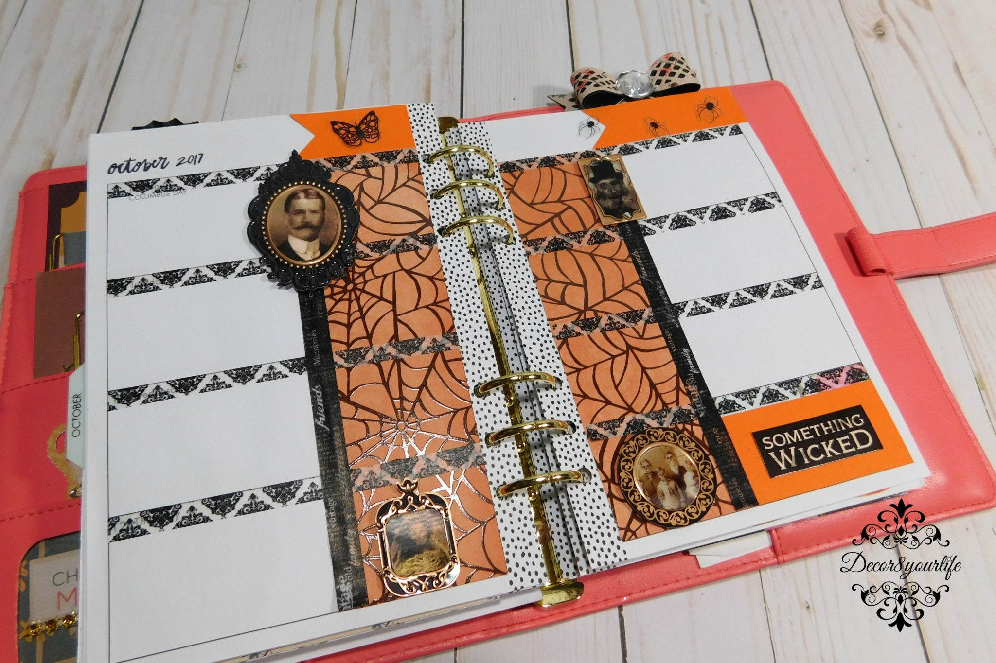 25 best planner layouts for halloween