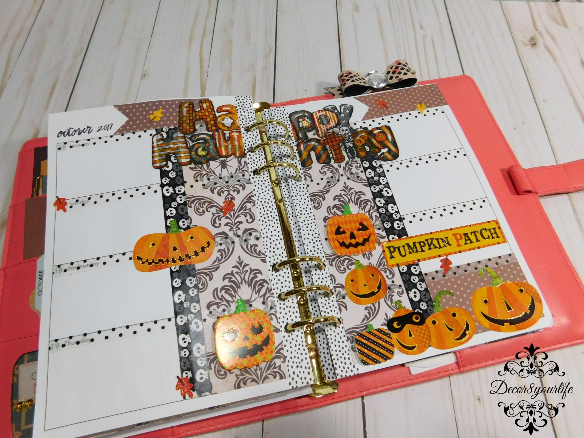 100 best halloween planner layouts