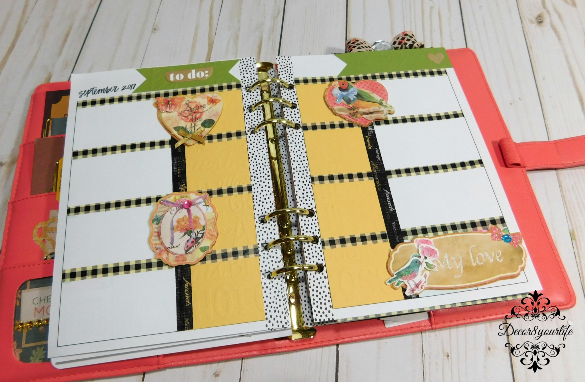 best planner layout ideas for fall