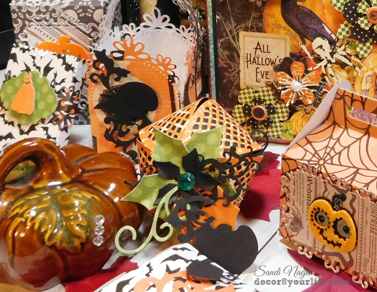 pumpkin treat box tutorial
