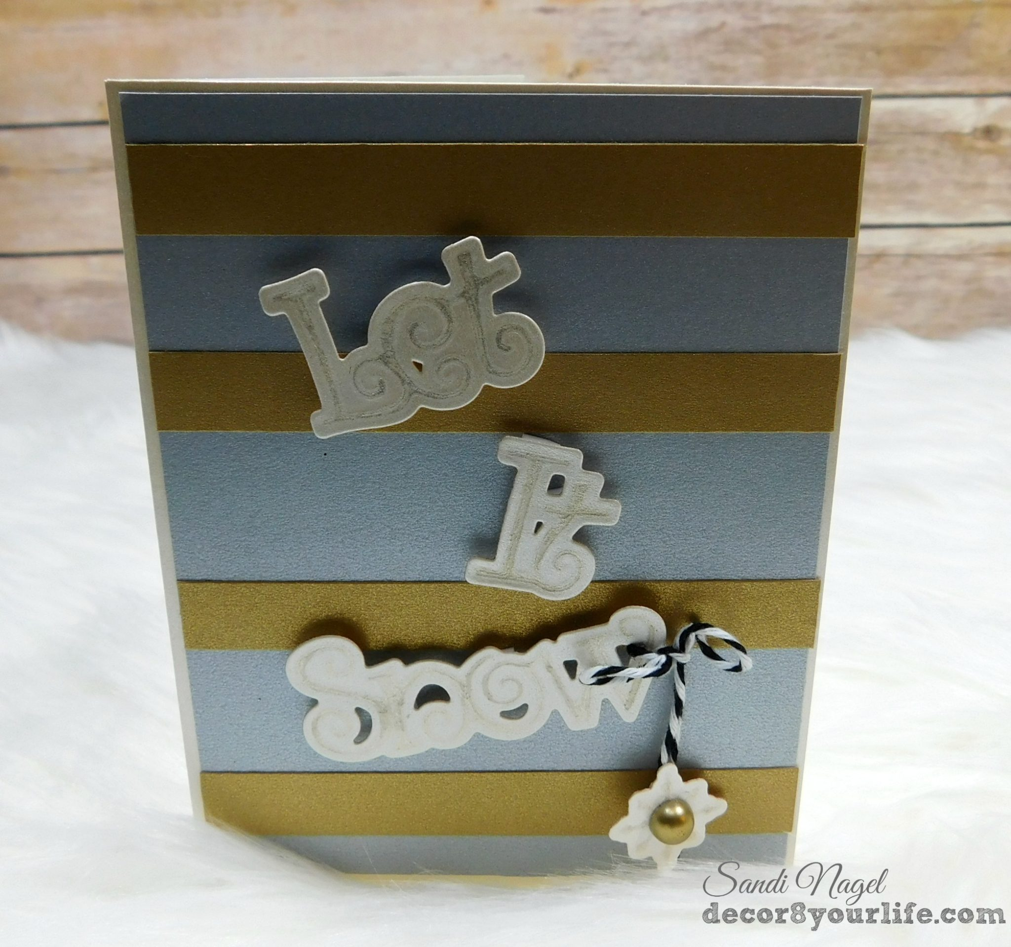 Christmas Cards using Spellbinders