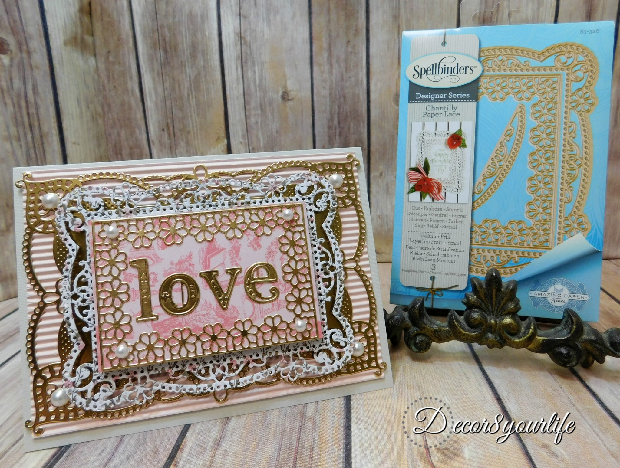 Valentines Day Card Tutorial | Decor8yourlife