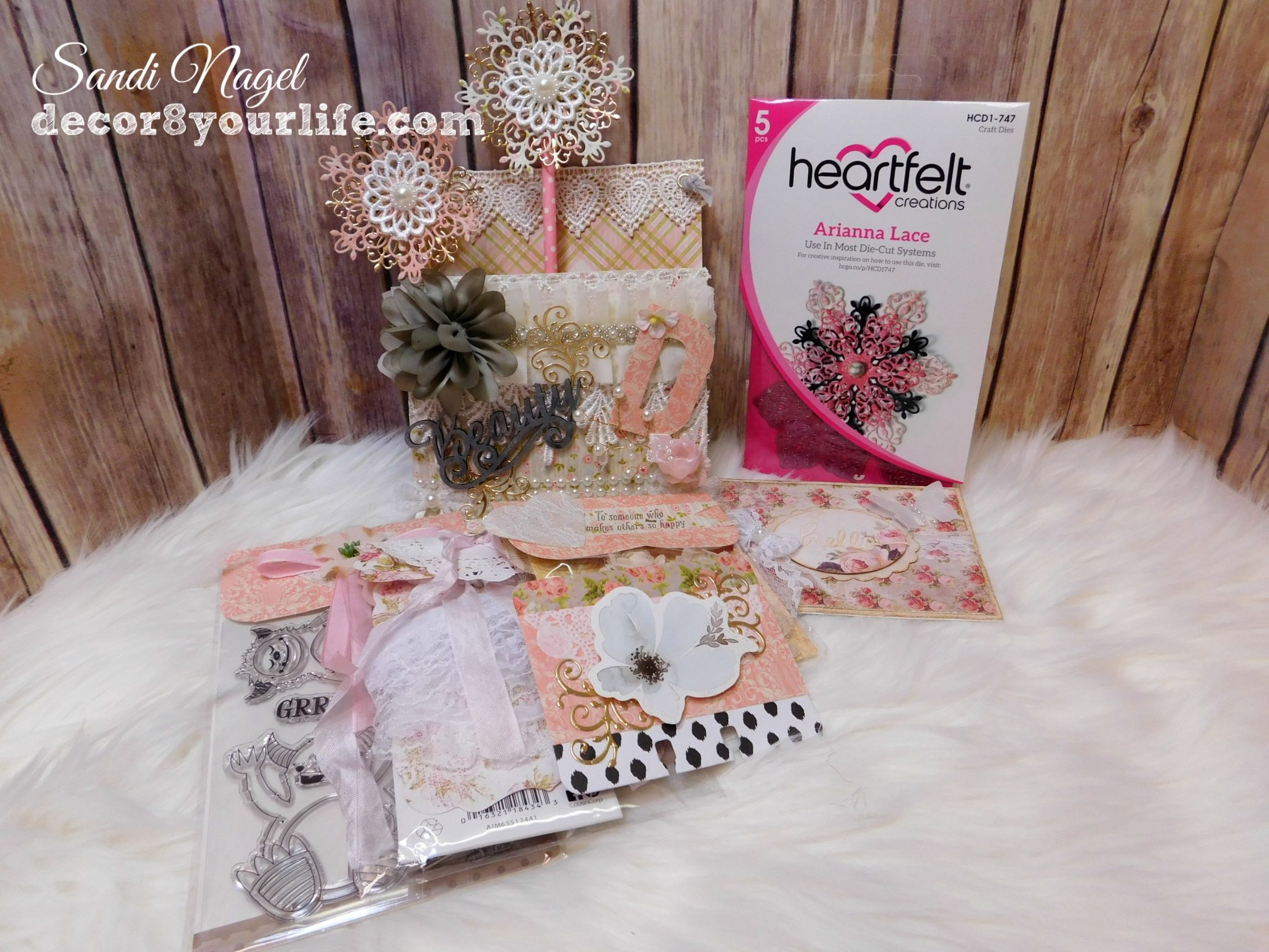 Heartfelt Creations Arianna Lace HCD1-747