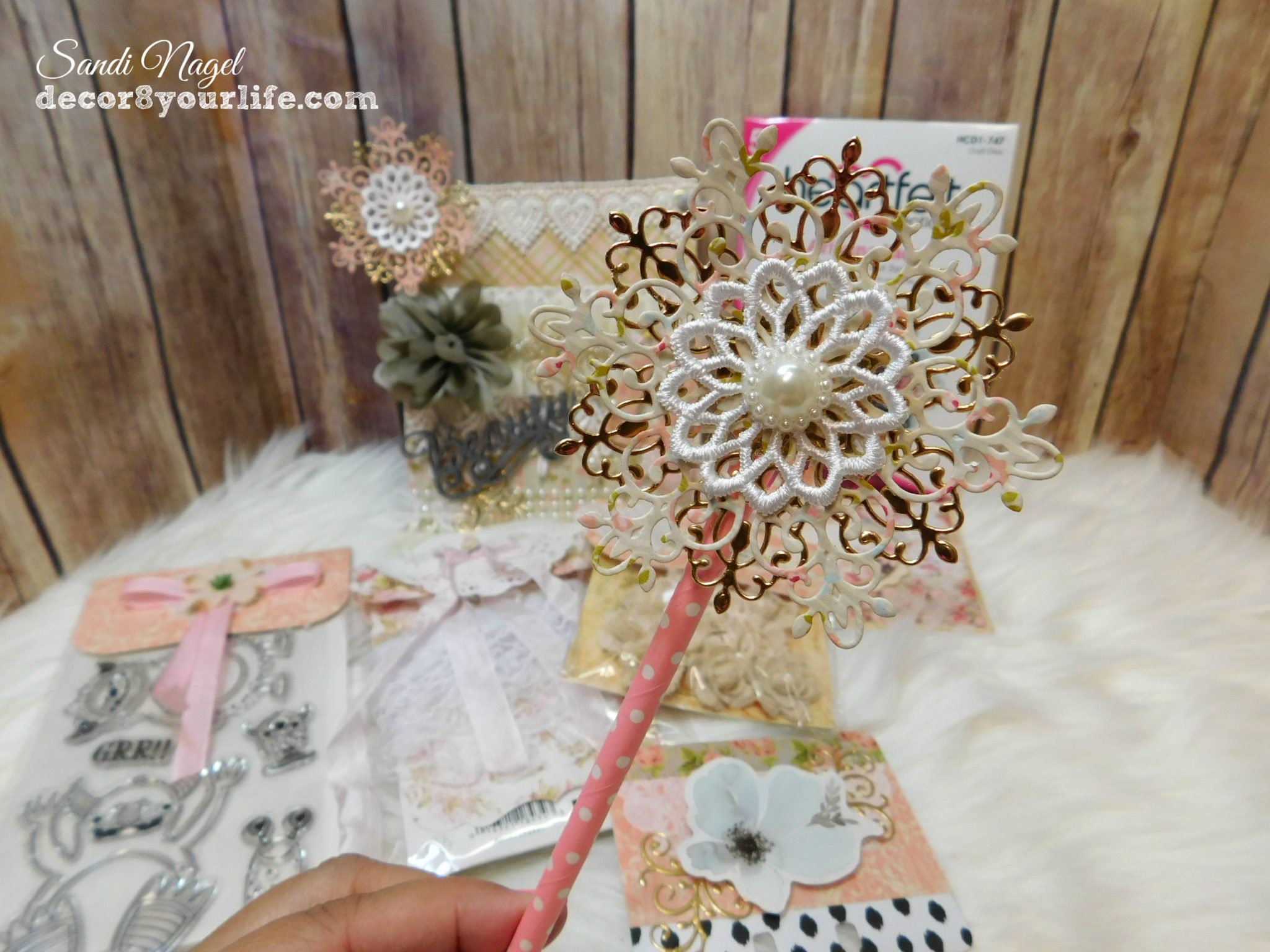 Shabby Chic Wand tag: shabby chic wands | decor8yourlife