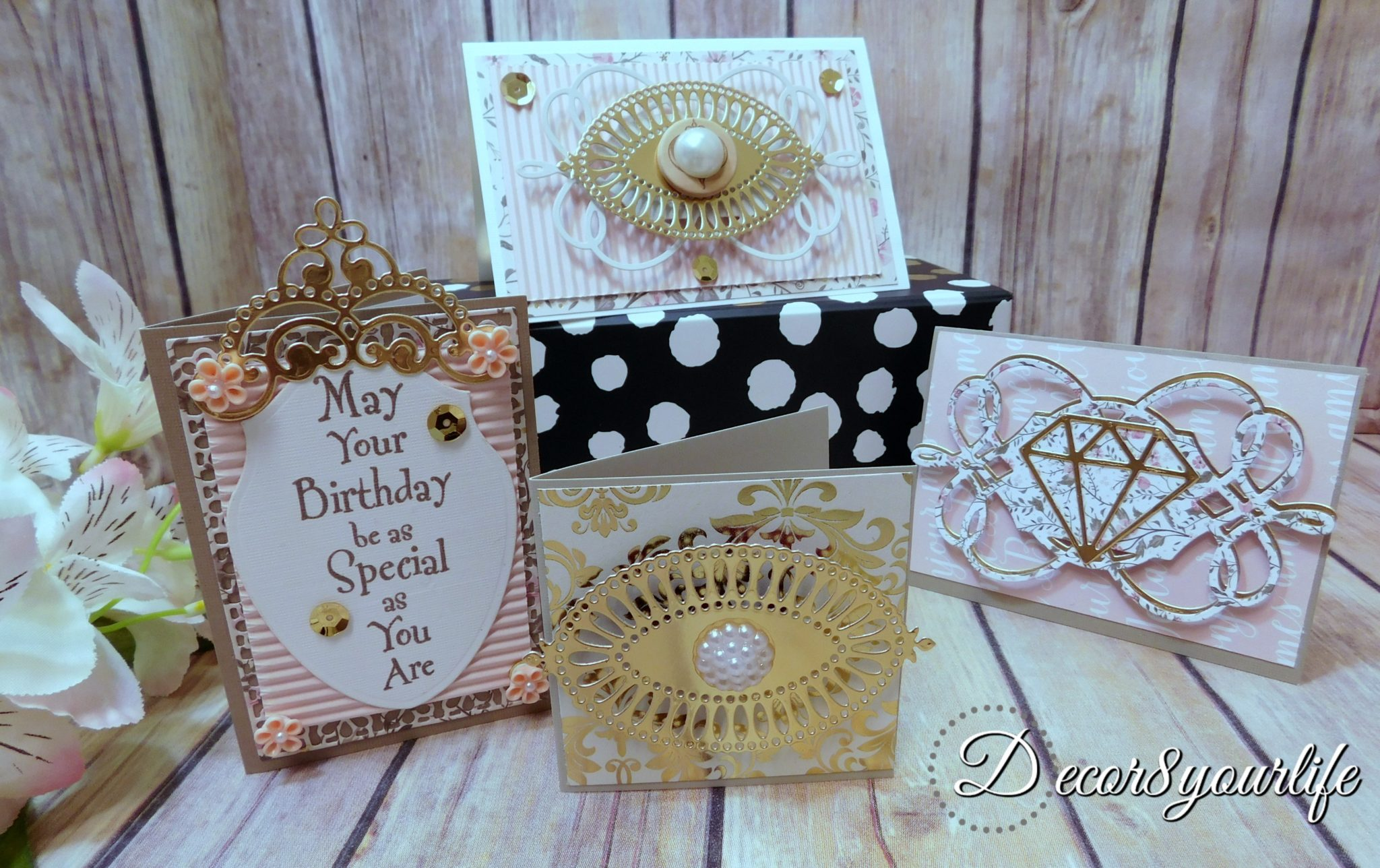 Spellbinders Chantilly Paper Lace