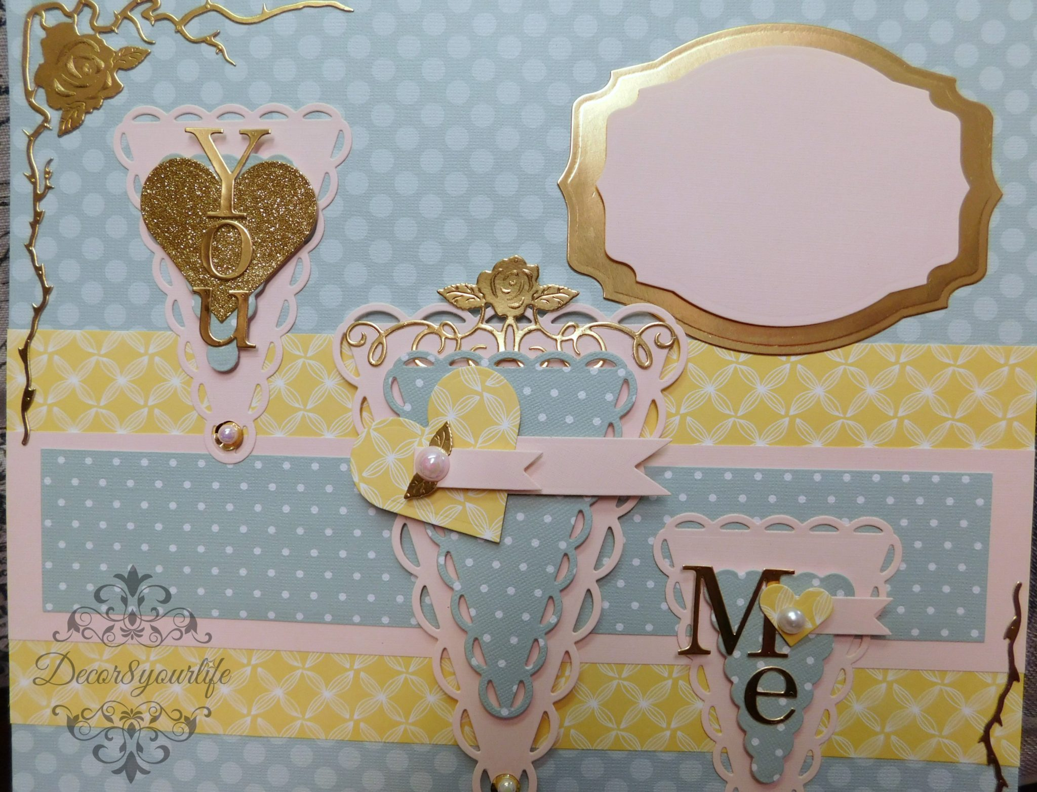 12x12 Scrapbook layout