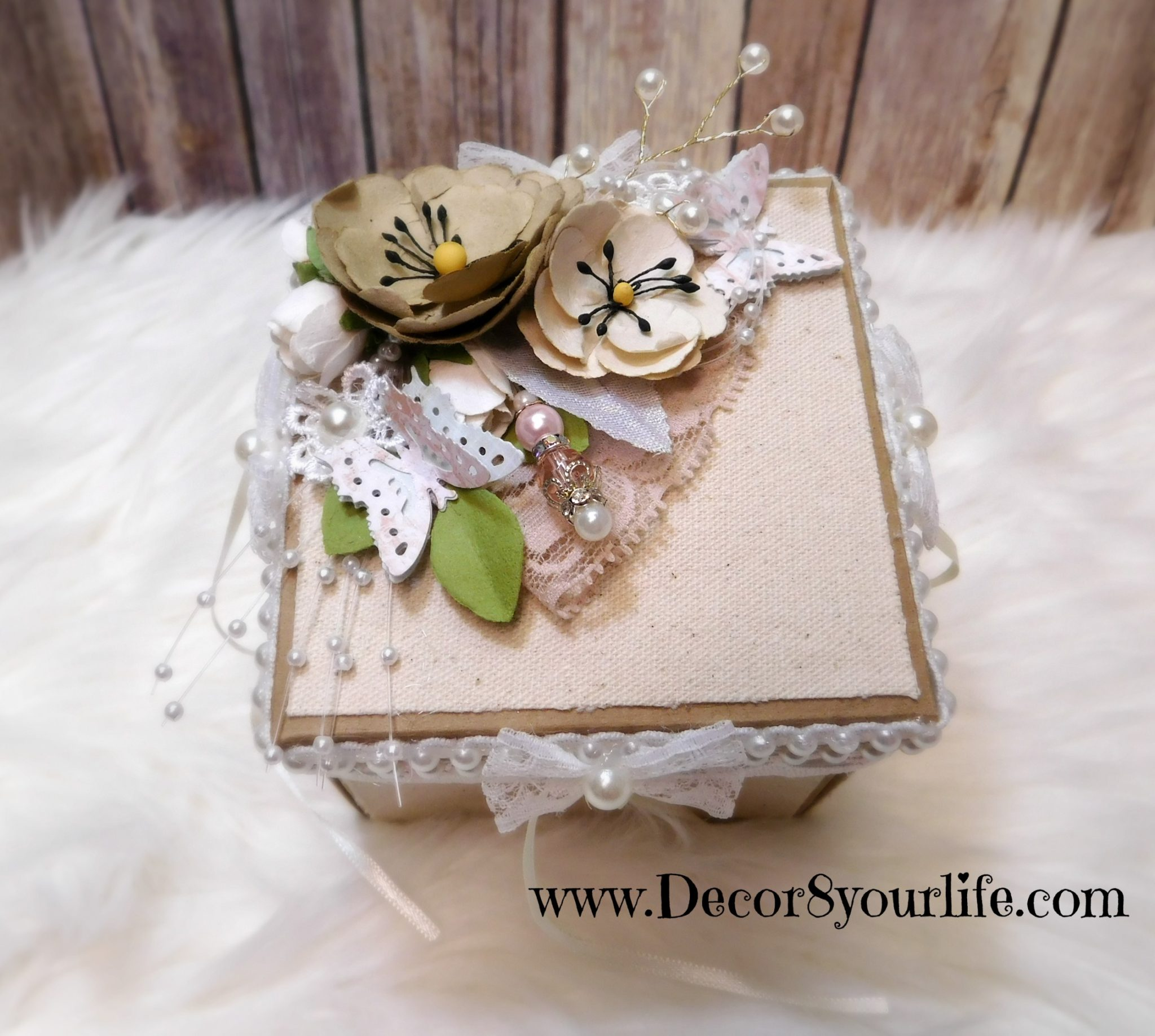 shabby chic box tutorial
