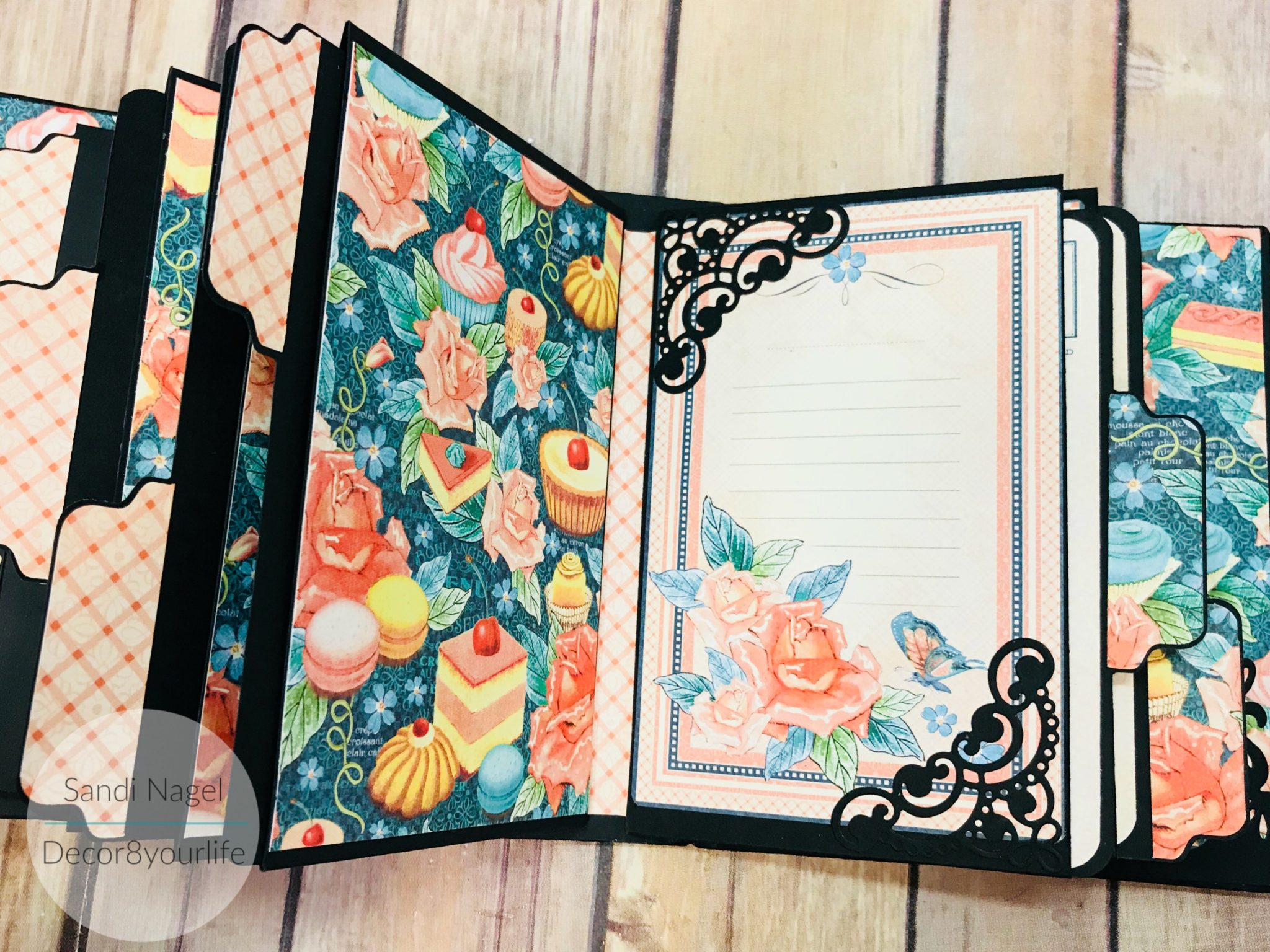 how to make an envelope mini album