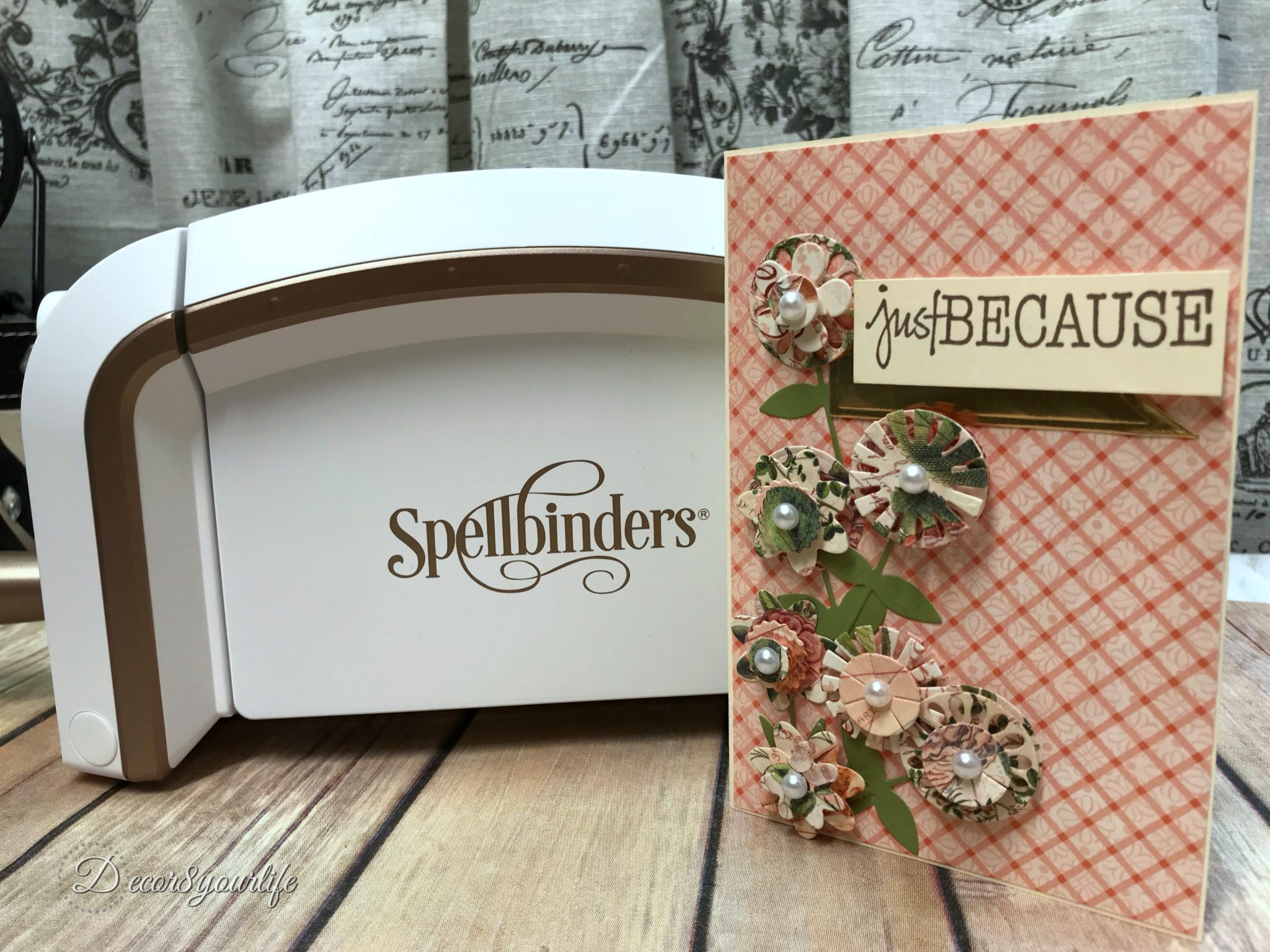 Spellbinders Small Die of the Month