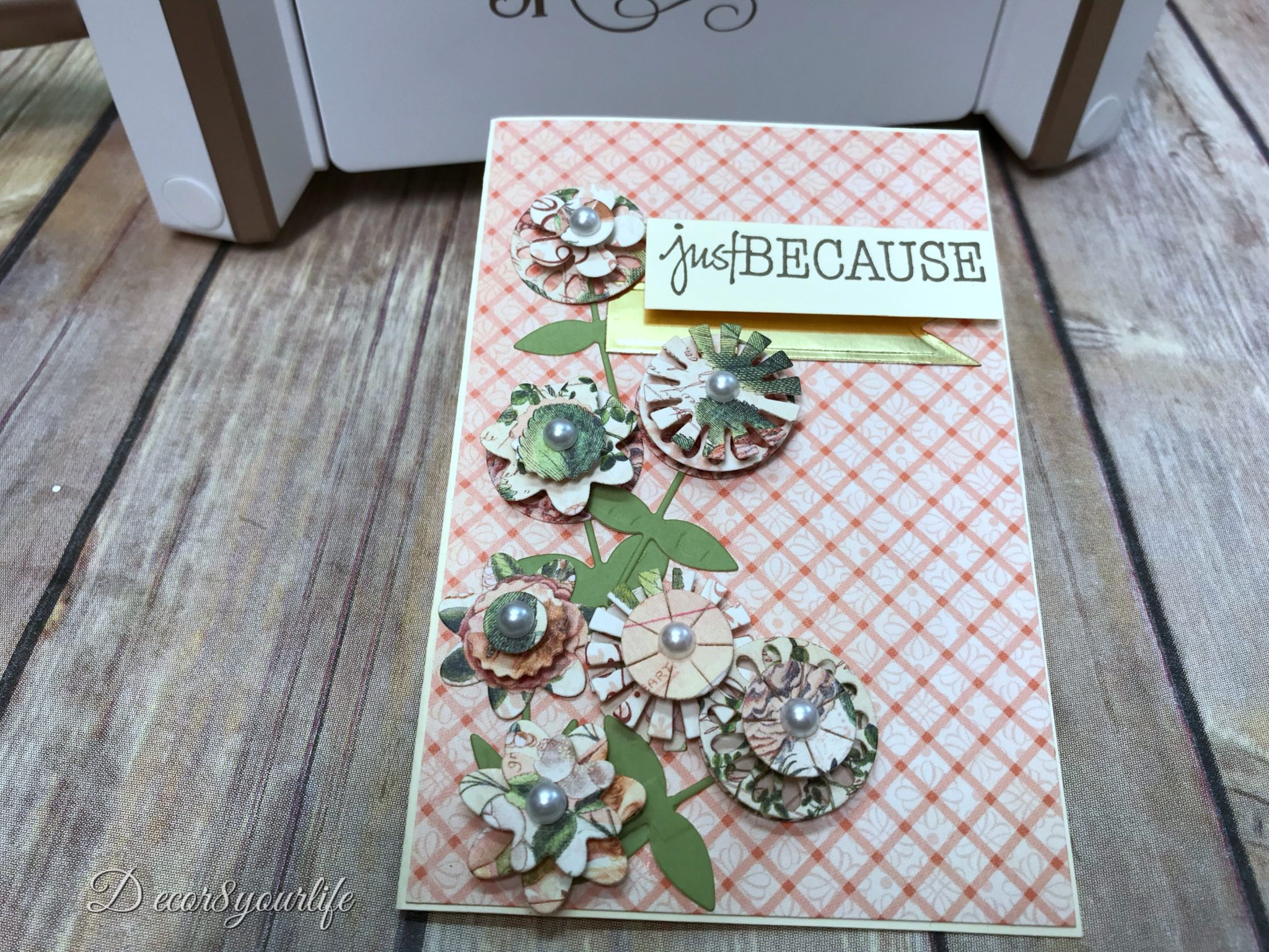 Spellbinders die of the month kit