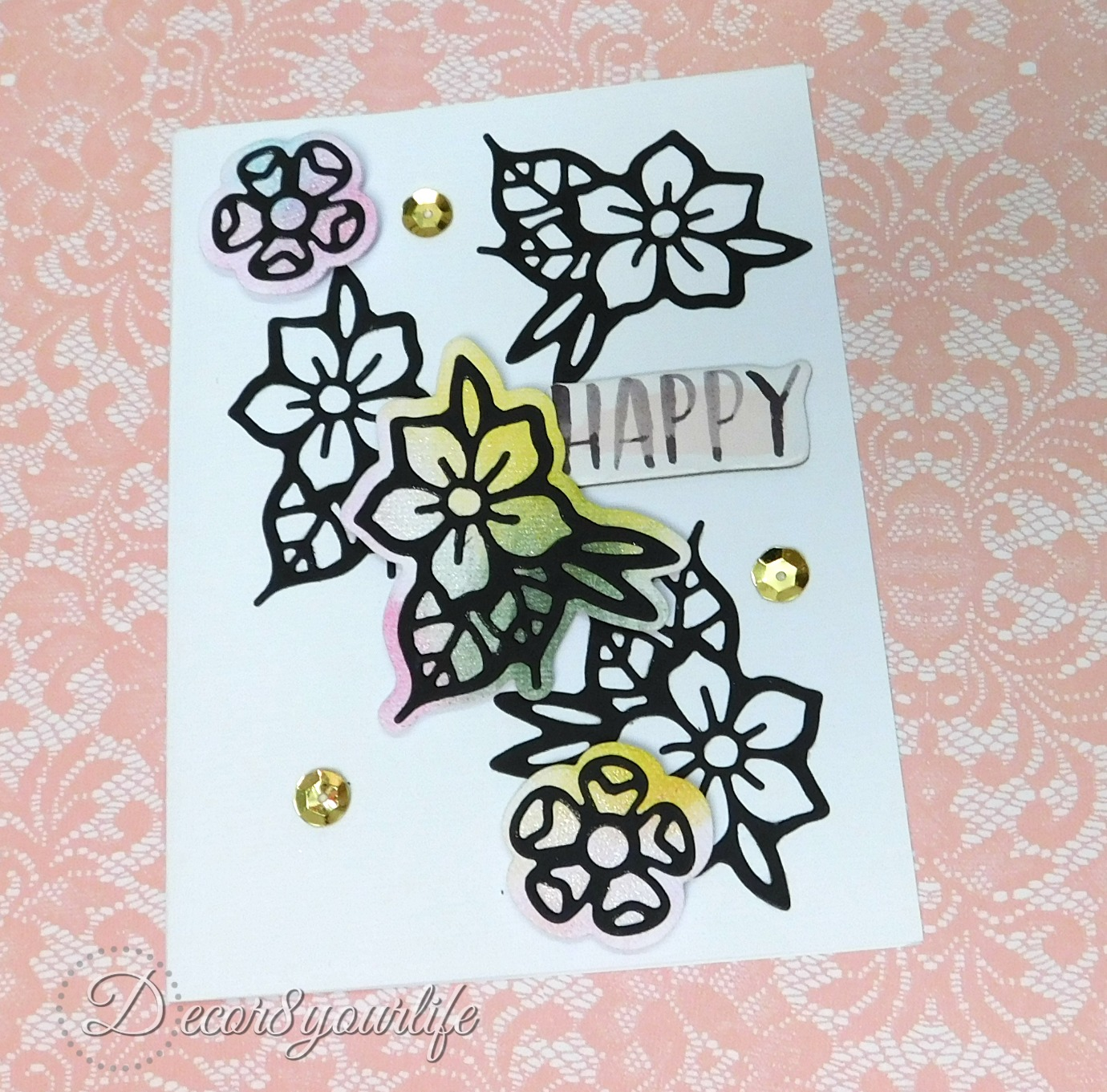 how to make cards using distress markers