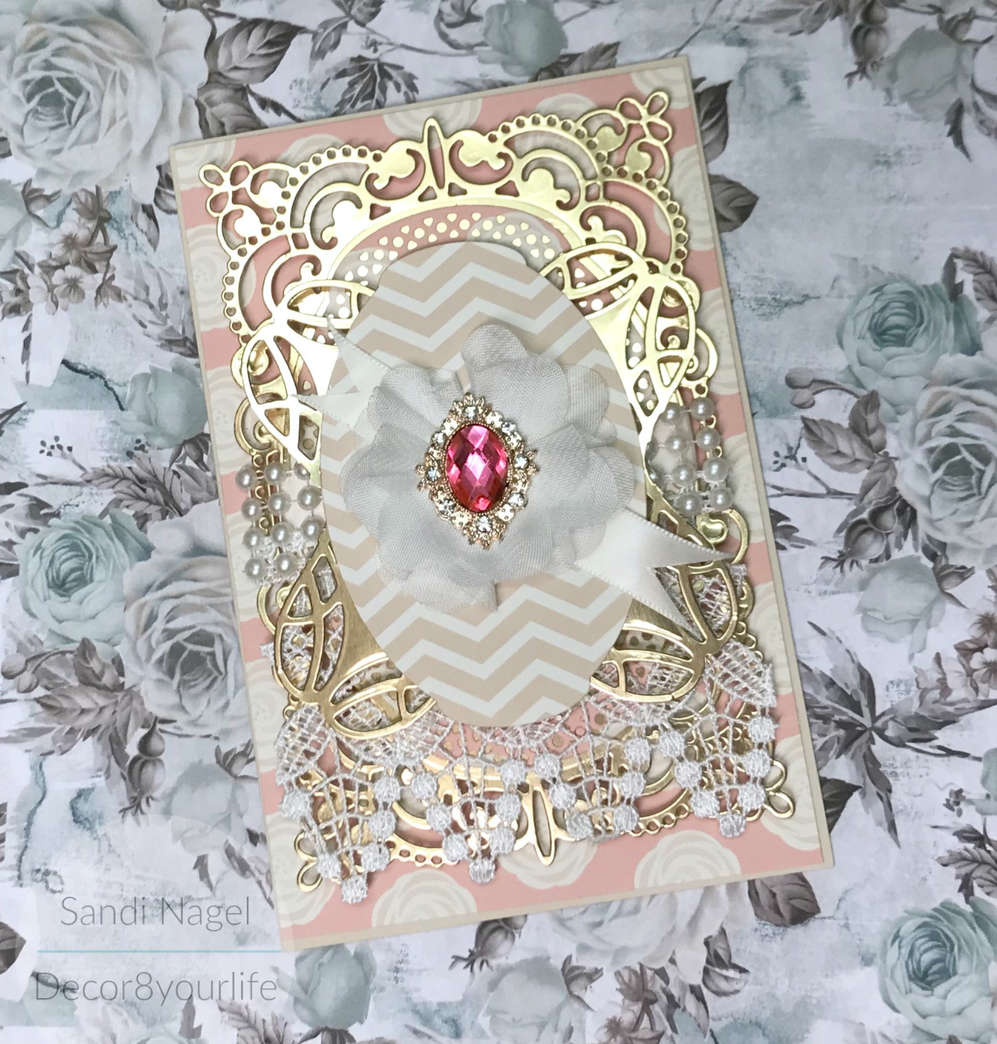 elegant card making tutorial