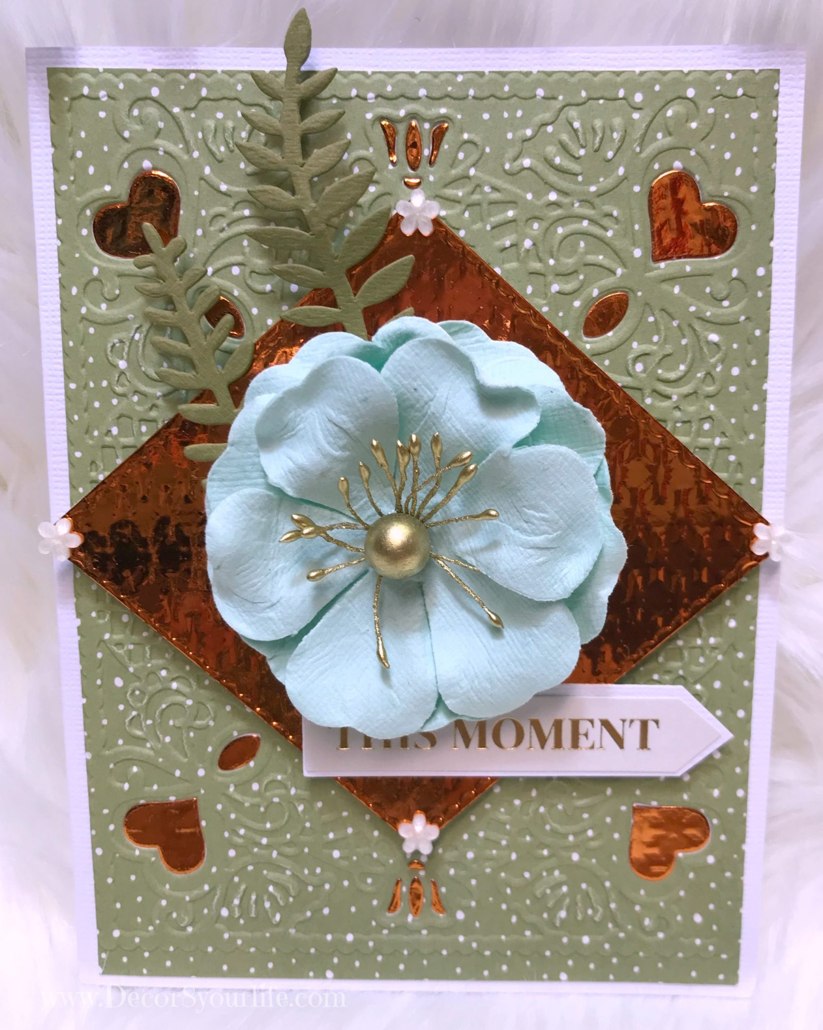 Spellbinders card tutorial