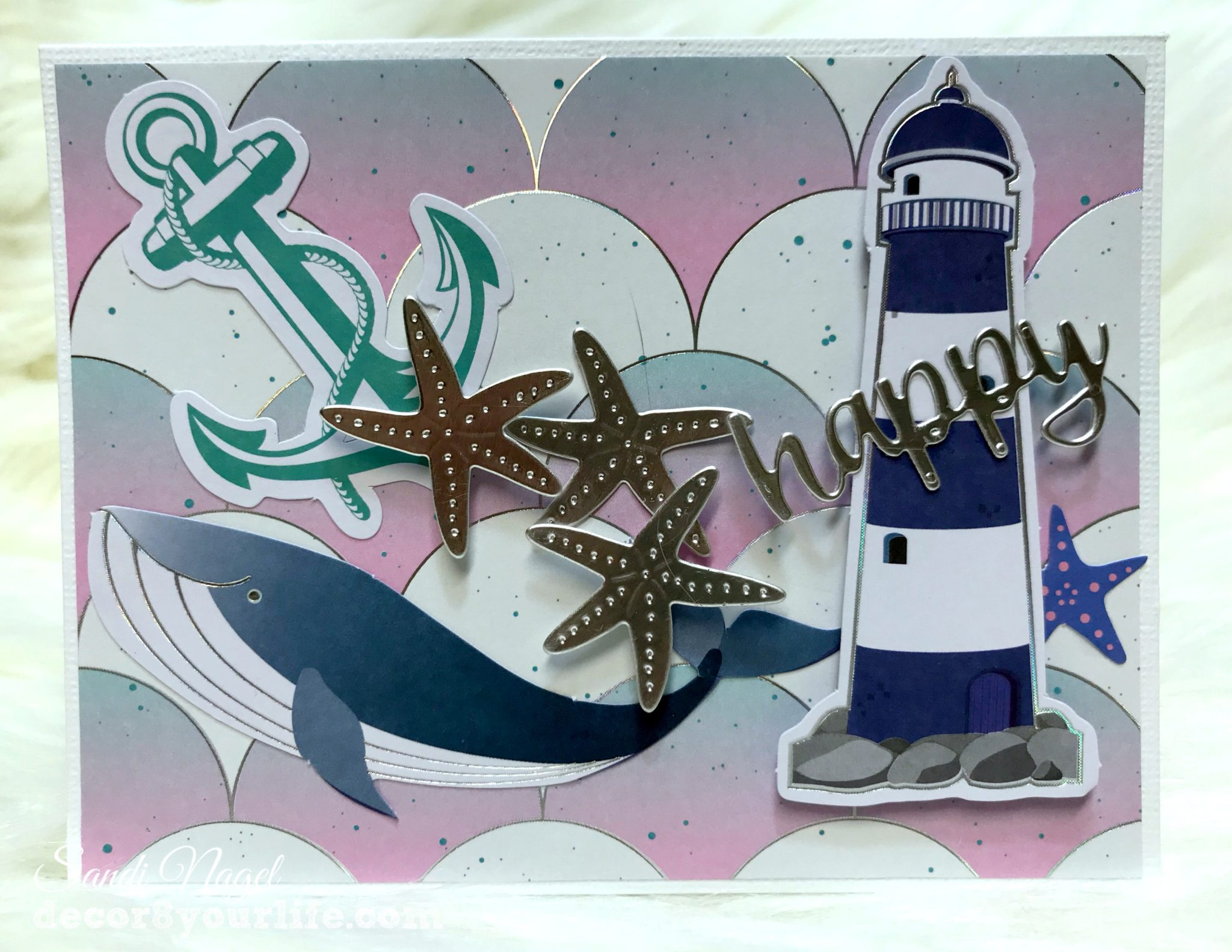 Nautical card making kit
