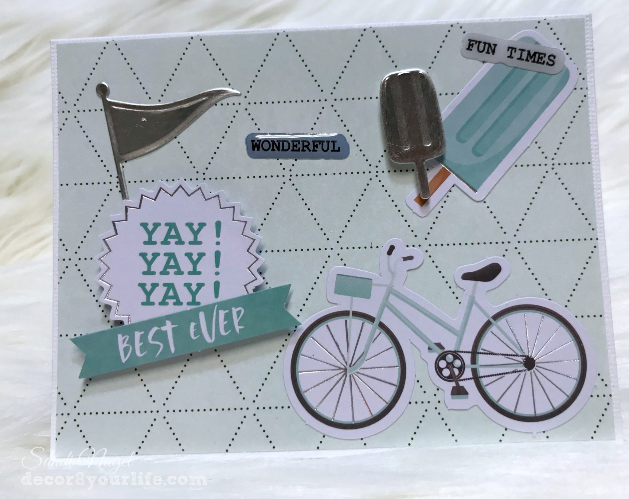 Spellbinders Summer Theme Cards
