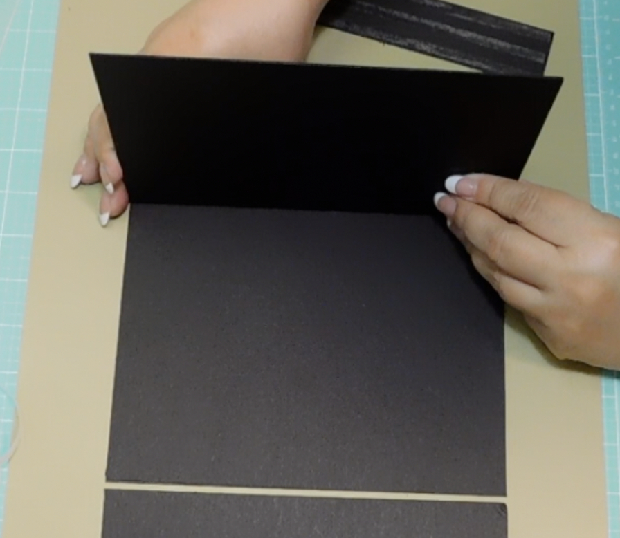 How to make a folio with chipboard
