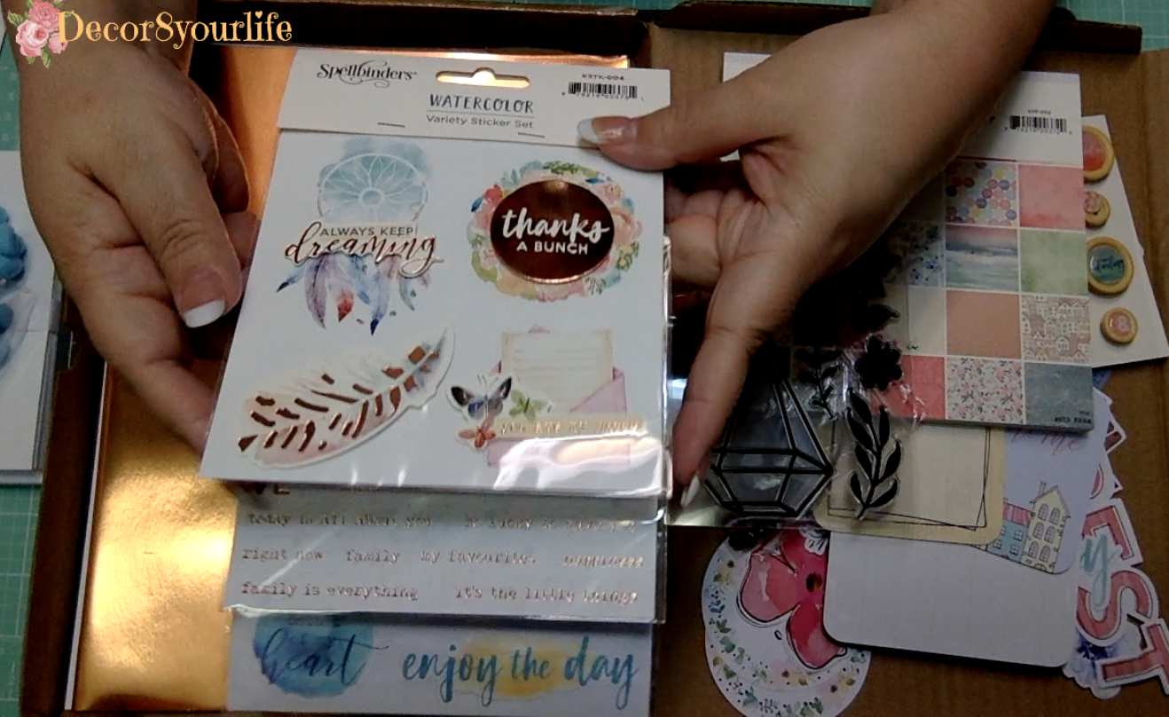 Card Making Stickers